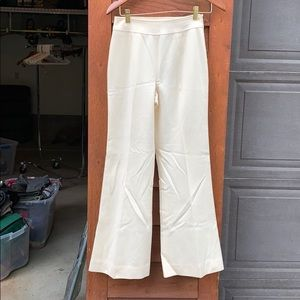 High rise Tracy Reese cream pant